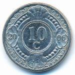 Антильские острова, 10 центов (2006 г.)