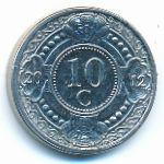 Антильские острова, 10 центов (2012 г.)