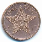 Багамские острова, 1 цент (2004 г.)