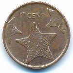 Багамские острова, 1 цент (2014 г.)