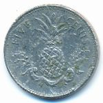 Багамские острова, 5 центов (1998 г.)