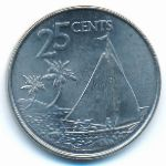 Багамские острова, 25 центов (2007–2015 г.)