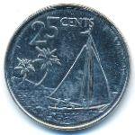 Багамские острова, 25 центов (2015 г.)