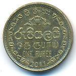 Шри-Ланка, 1 рупия (2011 г.)