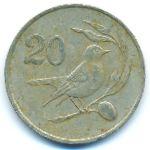 Кипр, 20 центов (1983 г.)