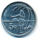 Токелау, 5 центов (2012 г.)