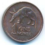 Замбия, 1 нгве (1983 г.)