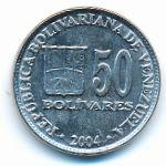 Венесуэла, 50 боливар (2004 г.)