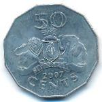 Свазиленд, 50 центов (2005–2007 г.)