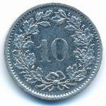Швейцария, 10 раппенов (1978 г.)
