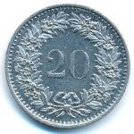 Швейцария, 20 раппенов (1981 г.)