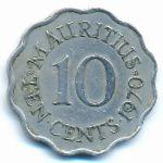 Маврикий, 10 центов (1970 г.)