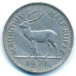 Маврикий, 1/2 рупии (1971 г.)