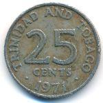 Тринидад и Тобаго, 25 центов (1971 г.)
