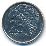 Тринидад и Тобаго, 25 центов (2017 г.)