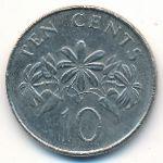 Сингапур, 10 центов (2007 г.)