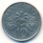 Сингапур, 10 центов (2003 г.)