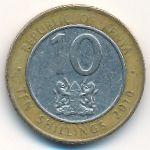 Кения, 10 шиллингов (2010 г.)