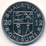 Маврикий, 1 рупия (2012–2016 г.)