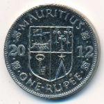 Маврикий, 1 рупия (2012 г.)
