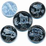Сахара, Набор монет (2020 г.)