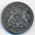Швеция, 1 крона (1877 г.)