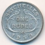 Сейшелы, 1 рупия (1939 г.)