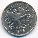 Тувалу, 50 центов (1976 г.)