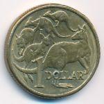 Австралия, 1 доллар (1985–1998 г.)