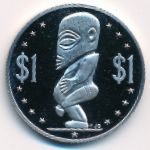 Острова Кука, 1 доллар (1976 г.)