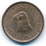 Остров Ланди, 1/2 паффина (1929 г.)