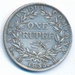 Британская Индия, 1 рупия (1835 г.)