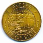 Аляска, 1 доллар (1959 г.)