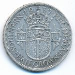 Южная Родезия, 1/2 кроны (1932 г.)