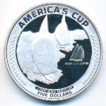 Американское Самоа, 5 долларов (1988 г.)