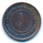 Стрейтс-Сетлментс, 1/4 цента (1899 г.)