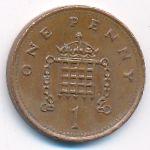 Великобритания, 1 пенни (1993 г.)