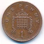 Великобритания, 1 пенни (2005 г.)