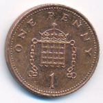 Великобритания, 1 пенни (2007 г.)