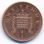 Великобритания, 1 пенни (2008 г.)