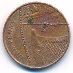 Великобритания, 1 пенни (2010 г.)