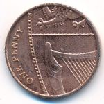 Великобритания, 1 пенни (2012 г.)