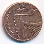 Великобритания, 1 пенни (2014 г.)