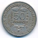 Западная Африка, 50 франков (2004 г.)