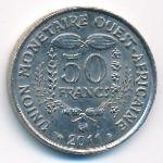 Западная Африка, 50 франков (2011 г.)