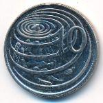 Каймановы острова, 10 центов (2013 г.)