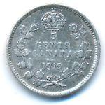 Канада, 5 центов (1919 г.)