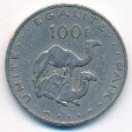 Джибути, 100 франков (1977 г.)