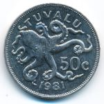 Тувалу, 50 центов (1981 г.)