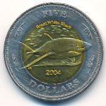 Кокосовые острова, 5 долларов (2004 г.)